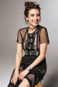 Emma Roberts At Grazia Italy June 2017 - Celebzz - Celebzz