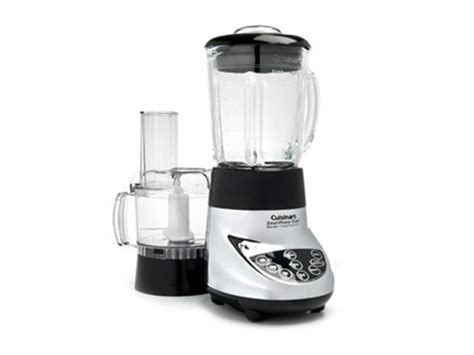 cuisinart home cuisine cuisinart chrome smartpower duet blender food processor