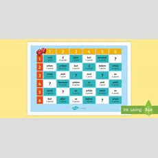 Years 3 And 4 Grammar Conjunction Challenge Game