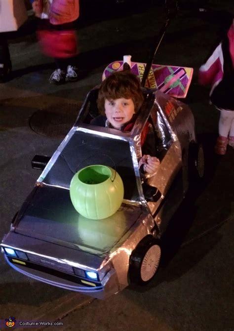 future marty mcfly  delorean halloween costume