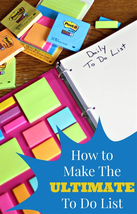 how to make a to do list in word how to make the ultimate to do list living a sunshine life