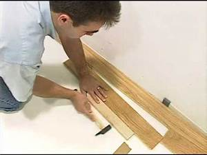 la pose du parquet flottant youtube With comment poser un parquet stratifié clipsable