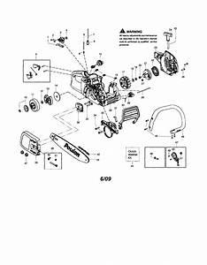 Poulan Pro P3818 Chainsaw Parts Diagram