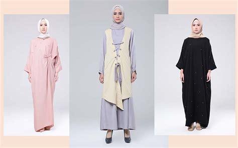Gamis Muslim M058 Dia Dress tata cara berpakaian sesuai syariat islam perempuan dan