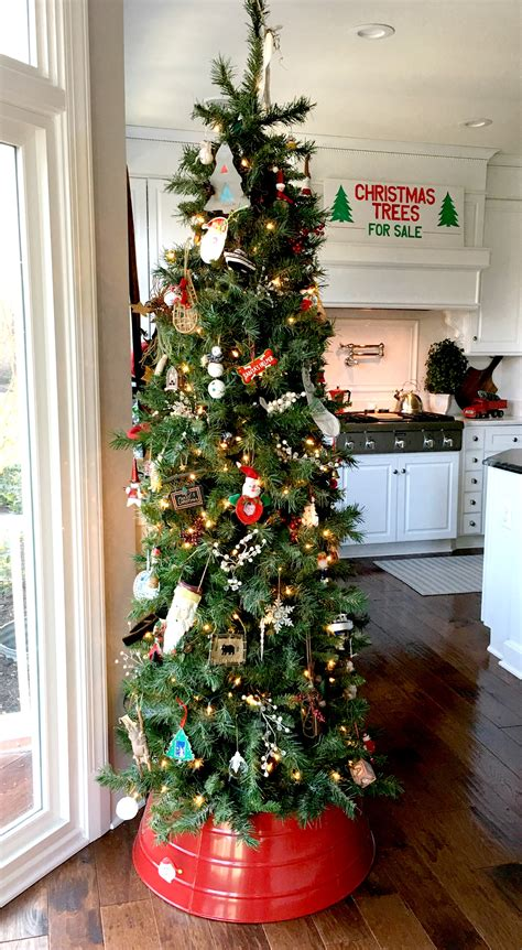 christmas tree in kitchen decorating for christmas in the kitchen stylish rev