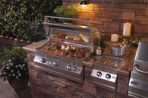 Large Kitchen Island Ideas - outdoor grills 101 how to make the long term buying decision fireside outdoor kitchens