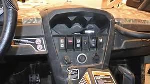 Can Am Commander 41 5 U0026quot  Led Cree Light Bar Install