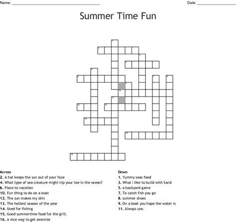 summer crossword wordmint