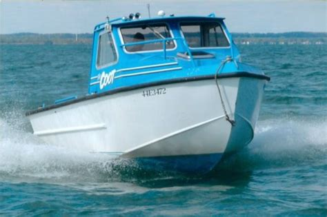 Fishing Boat Dealers In Ontario by Hike Aluminum Fishing Boat 1987 Used Boat For Sale In St