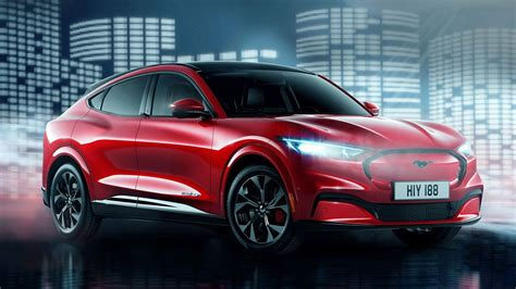 ford mustang mach  electric suv top gear