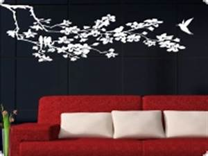 Wandschablone Selber Machen : pin deko wandschablone wandschablonen wandtattoo efeuranke ~ Lizthompson.info Haus und Dekorationen