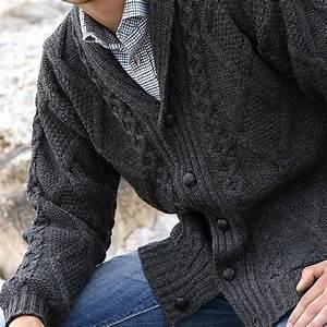 Veste En Laine Homme : veste irlandaise 100 pure laine m rino col ch le pour ~ Carolinahurricanesstore.com Idées de Décoration