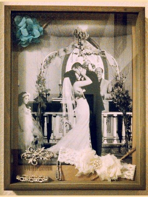 my wedding shadow box my pinterest projects diy