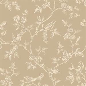 Fine Decor Delamere Wallpaper Cream and Gold