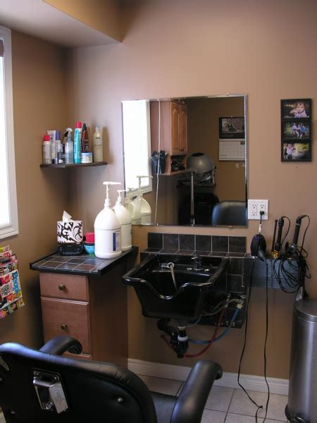 bathroom renos ideas home hair salon after da maren home renovations