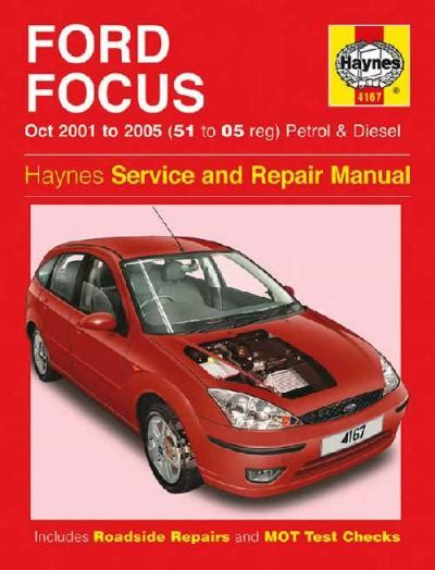 ford focus lr petrol diesel   haynes service
