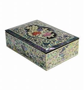 Boite A Bijoux Design : boite bijoux en nacre design fleurs de rose ~ Melissatoandfro.com Idées de Décoration
