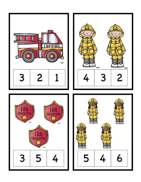preschool fire safety crafts preschool printables safety number cards preschool 871