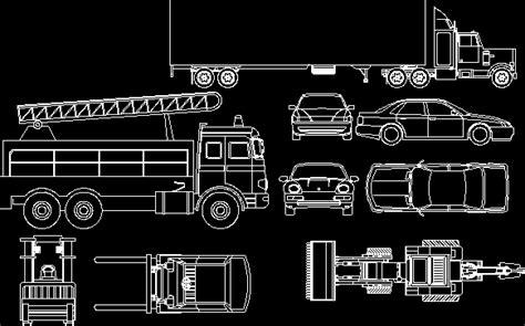 vehicles cars semi trailer fire truck tractors