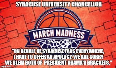 Syracuse Meme - final four imgflip
