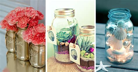 diy mason jar crafts ideas  designs