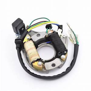 Motorcycle 6 Wire Half Wave Ac Magneto Stator Coil
