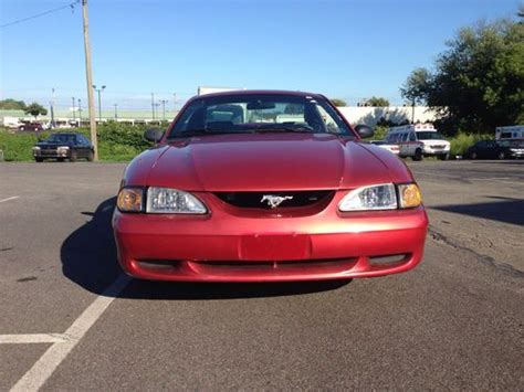 buy car manuals 2000 ford mustang engine control buy used beautiful 1998 ford mustang v6 coupe 5 speed manual inspected like new come look in
