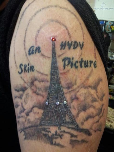 famous eiffel tower tattoos