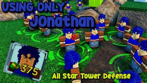 152 ответов 29 ретвитов 677 отметок «нравится». (CODES) Using ONLY Jonathan Joestar In All Star Tower Defence ROBLOX - YouTube