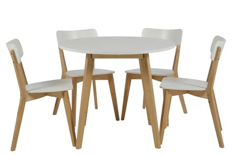 table ronde et chaise table salle a manger scandinave