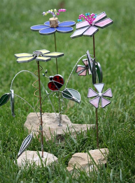Stained Glass Garden Art  Google Search  Stained Glass