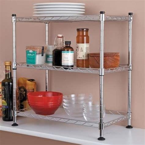 countertop corner shelf tabletops gallery stax living kitchen