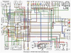 Bmw R80 Wiring Diagram  7