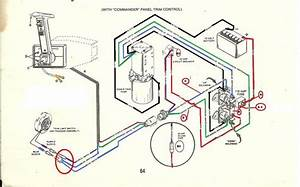 Mercruiser Trim Solenoid Wiring Diagram