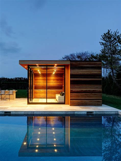 simple modern wooden house design ideas photo 25 pool houses to complete your backyard retreat