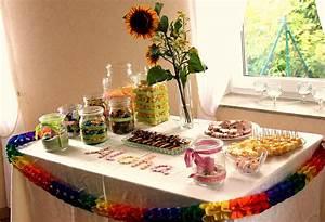 Party Buffet Ideen : hawaii kindergeburtstag dekoration und buffet land und ~ Markanthonyermac.com Haus und Dekorationen