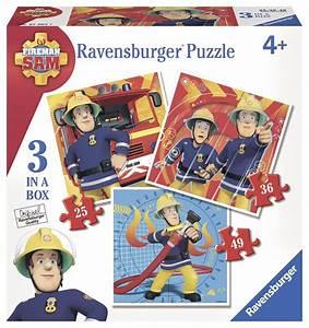 Puzzle Online Kaufen : 3 puzzles feuerwehrmann sam 25 teile ravensburger puzzle online kaufen ~ Watch28wear.com Haus und Dekorationen