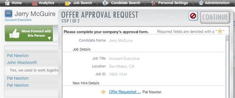 applicant tracking system upgrade  tracking system