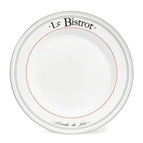 deco pour chambre ado garcon assiette plate en faïence blanche d 27 cm nestor maisons