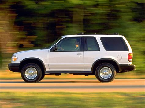 Ford Explorer Technical Specifications And Fuel Economy
