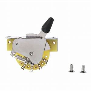 Yoodada 5 Way Lever Switch Selector For Fd Electric Guitar
