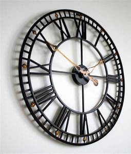 AMS 9537 XXL Wanduhr 60 Cm Wanduhr Bei Uhren4Youde