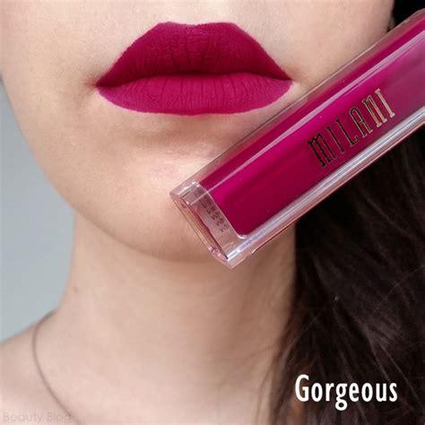 milani amore matte lip creme gorgeous original