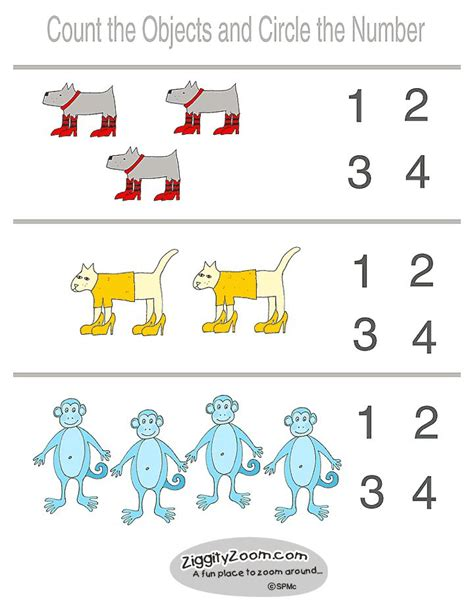 printable preschool writing worksheets numbers