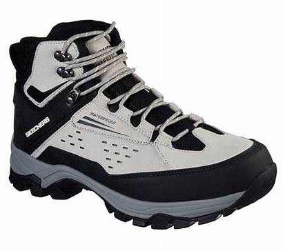 Skechers Polano Norwood Relaxed Boots Hiking Grey