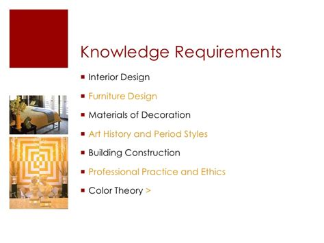 requirements for an interior designer requirements for interior design home design