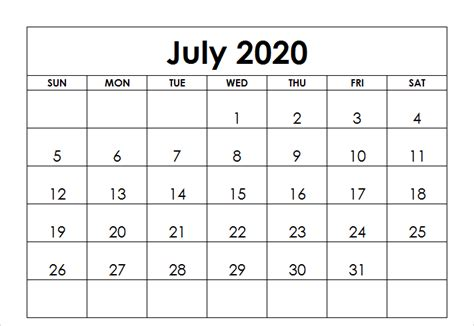 july  calendar  holidays thecalenderpedia