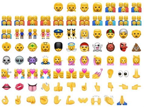 New Ethnically Diverse Iphone Emojis Added To Ios 8.3 By