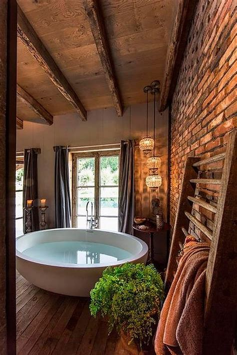 rustic bathroom design ideas rustic farmhouse bathroom ideas hative