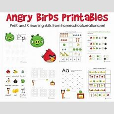 Free Angry Birds Prek And Kindergarten Printable Packs  Free Homeschool Deals